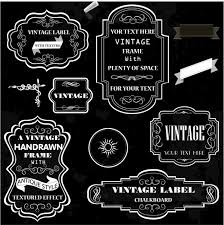 Vintage Chalk Frames Free Vector In Adobe Illustrator Ai Ai