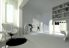postmodern interior architecture. Light Gray Post Modern Interior Design Rendering Postmodern Architecture