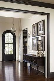Trim painted black at Charleston home of designer Linda McDougald. Linda  McDougald Design, postcard from Paris home.