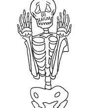 Small Picture Skeleton activities crafts and bone chilling coloring pages for kids