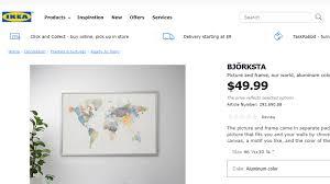 ikea apologizes for ing world map