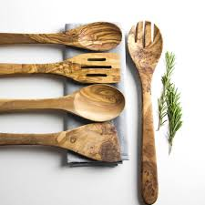 kitchen utensils images. Olive Wood Five Piece Kitchen Utensil Set Utensils Images C