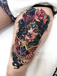 Neotraditional Neo Traditionaltattoo Tattoo Wonderwomantattoo