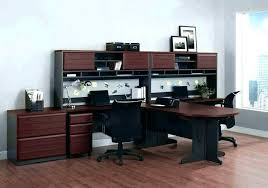 two desk home office. Home Office Desk For Two Person  Prissy Two Desk Home Office