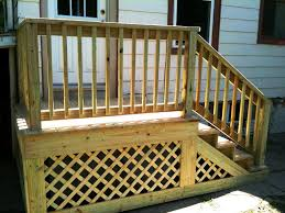 optional porch railings materials ideas