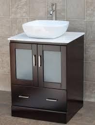24 vessel sink vanity. Plain Vanity 24u0026quot Bathroom Vanity Solid Wood Cabinet White Tech Stone Top Vessel  For 24 Sink E