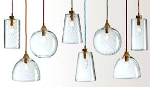 cool clear glass pendant lights remarkable uk glas