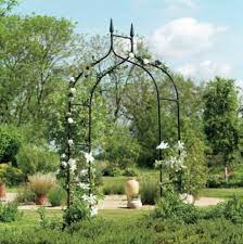 wedding arbor ivy trellis rose garden