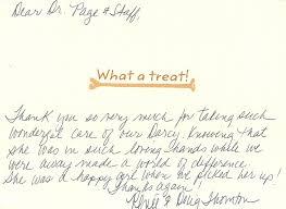 Testimonials Client Appreciation Letters Veterinarians