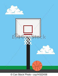 Basketball Drawing Pictures Basketball Hoop Outside Basketball Hoop Outside With Sky Background