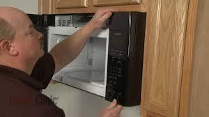 Ge Profile Microwave Repair Ge Microwave Control Panel Replacement Repair Wb56x20761 Youtube