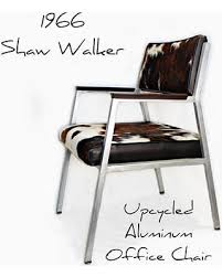 Image Spacesapp Vintage Metal Chair Mid Century Seating Vintage Office Arm Chair Shaw Walker Upcycle 1960s Cowhide Leather Better Homes And Gardens Amazing Deal On Vintage Metal Chair Mid Century Seating Vintage