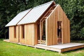 Small Picture Not your typical garden shed this one expands like a telescope