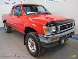 1994 Toyota Pickup DX V6 Extended Cab 4x4 in Cardinal Red - 139574 ...
