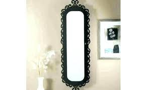 narrow wall mirror decorative thin wall mirror medium size of long with regard to long skinny