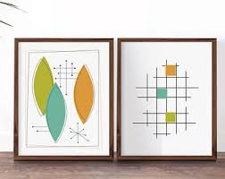 nice looking mid century wall art home pictures etsy printables modern set diy on mid century modern wall art diy with nice looking mid century wall art home pictures etsy printables