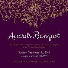 Customize 71 Banquet Invitation Templates Online Canva