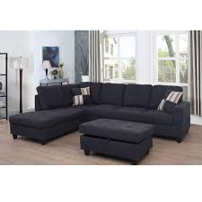star home living 3 piece jet black