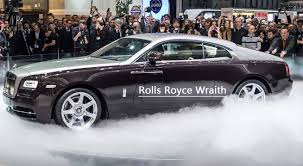 new car launches august 2013Rolls Royce Wraith to launch in August 2013