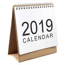 standup desk calendars january 2019 to december 2019 stand up desk calendar twin