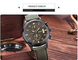 megir mens chronograph military classic calender fashion luxury 1 we will ship items out as soon as possible after the full payment has been confirmed if the payment is not available your order will be closed
