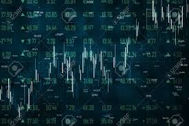 Trade And Stats Concept Creative Forex Chart Wallpaper With
