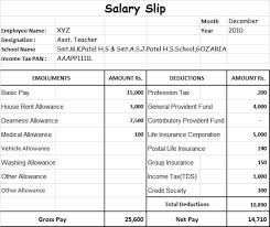Payroll Sheet Samples Top 20 Formats Of Salary Slip Templates Word Excel Templates