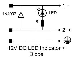 hirschmann din 43650 form a pg 11 12v diode nbr flat hirschmann