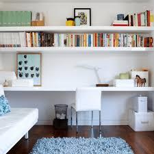 Home office wall shelves White Dark Wood Home Office Wall Shelves Modren Home Extra Long Desk Fun Cube Neginegolestan Shelves Desk Home Office Nobailoutorg