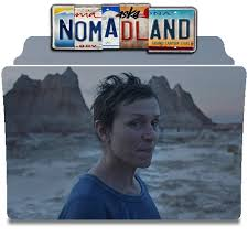Nomadland (2020) drama after losing everything in the great recession, a woman embarks on a journey through the american west, living as a. Nomadland 2020 Movie Folder Icon By Nandha602 On Deviantart