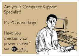 Pc Support Specialist Are You A Computer Support Specialist My Pc Is Working