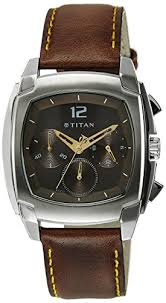 buy and compare titan ne1609sl02 analog watch for men online titan ne1609sl02 analog watch for men