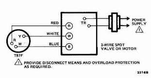 room thermostat wiring diagrams for hvac systems 3 wire spdt honeywell t87f thermostat wiring diagram