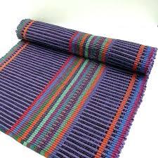 cotton rug runner dazzling design ideas rugs beautiful decoration in purple carpet washable go