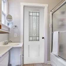 Pvc interior doors for the bathroom