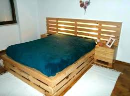 pallet bed frames ideas frame twin best about on queen headboard for plans instructio