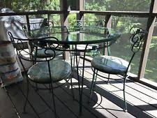 Woodard Wrought Iron Outdoor Furniture Sets