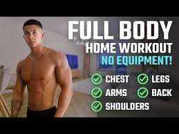 the best full body home workout for