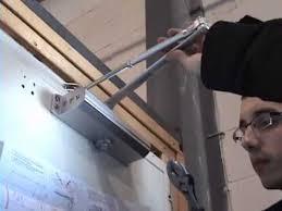 door closer installation. how to install door closer - standard installation / tell manufacturing, inc. o
