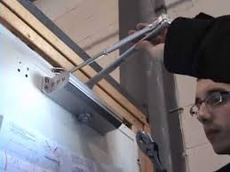 how to install door closer standard installation tell manufacturing inc
