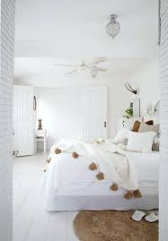 All White Bohemian Bedroom All White Inspired Home Home Management ...