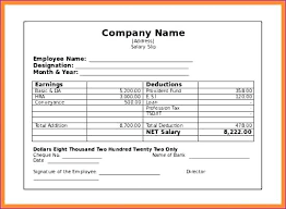 Download Payslip Template Mesmerizing Payslip Template Word Document Inspirational Sample Receipt Form