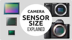 Dslr Sensor Size Chart Camera Sensor Size Explained