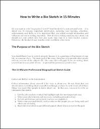 Personal Trainer Biography Example Personal Bio Template Free Biography Templates Examples