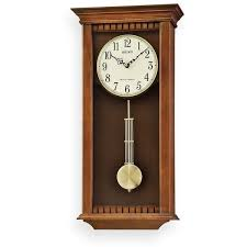 seiko wood pendulum wall clock