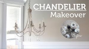 diy crystal chandelier araña de luces