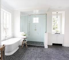 modern bathroom floor tiles.  Bathroom Brilliant Modern Bathroom Flooring Brick Floor Tile With Herringbone  Pattern In Tiles F