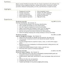 Warehouse Supervisor Resume Stunning Free Sample Resume For Warehouse Manager Of Download Letsdeliverco