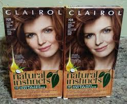 Natural Instincts Light Golden Red 2 Boxes Clairol Natural Instincts Hair Color 7gr Light