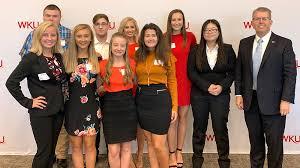 WKU honors students at Elizabethtown luncheon   Western Kentucky University